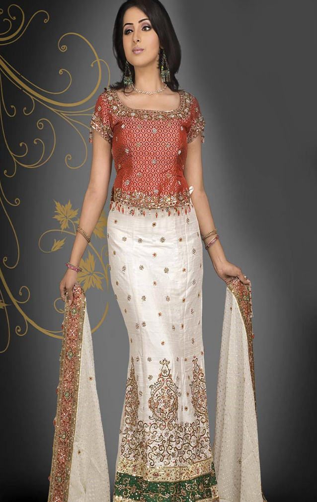 Bridal Fishtail Lehenga Styles Girls Mag