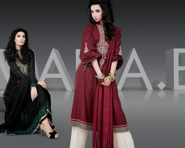 Designer-Maria-B-Lovely-Party-Wear-Cotton-Outfits-Collection