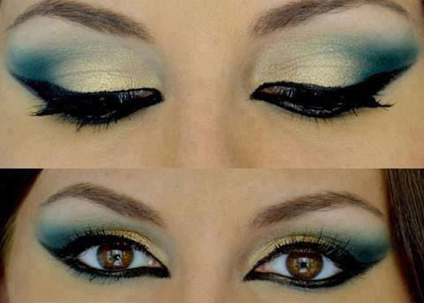 peacock-eye-makeup