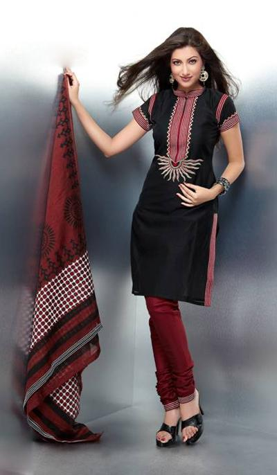 Black-Designer-Beautiful-Salwar-Kameez-Dresses-Collection-2013-08