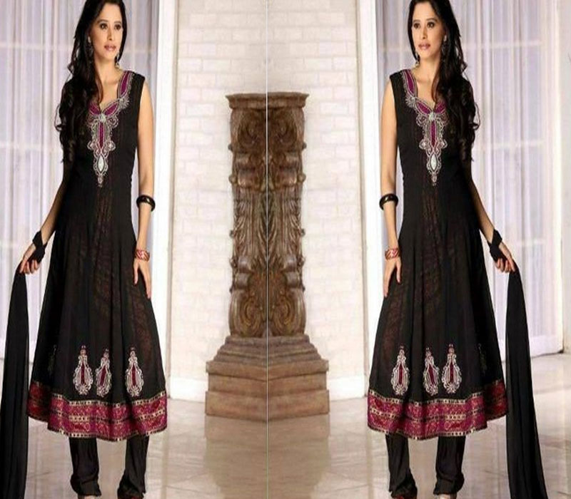 Pakistani_And_Indian_Awesome_Casual_Black_Dresses_2013
