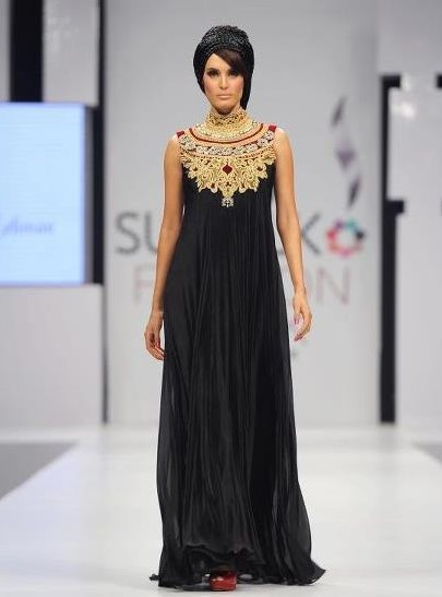 black-long-frock-for-eid-collection
