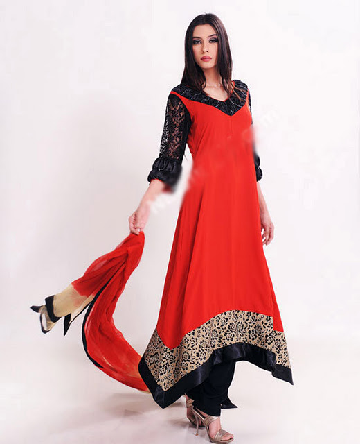 Long-Shirt-A-Line-Fashion-In-Pakistan-For-Girls-8