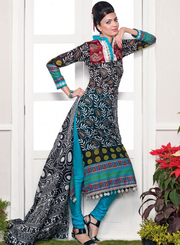 New-Fashion-Summer-Lawn-Dresses-For-Girls
