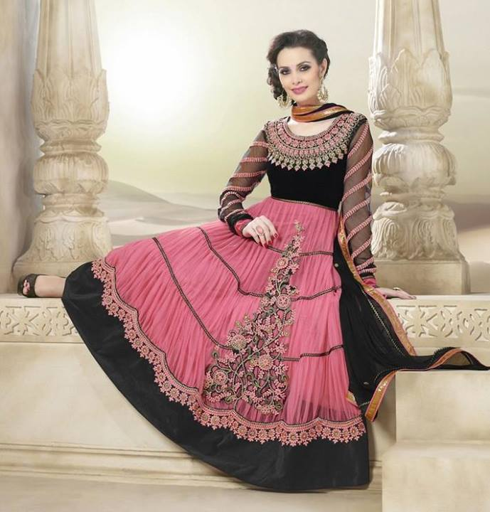 festive anarkali dresses for eid - Girls Mag