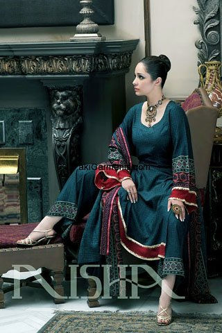 Nishat Winter Khaddar Collection 2011-10