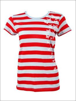 Round-Neck-Ladies-T-Shirts
