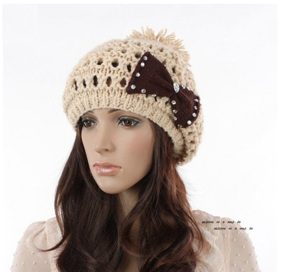 Latest Trend Women Winter Caps Fashion 2012-2013 2
