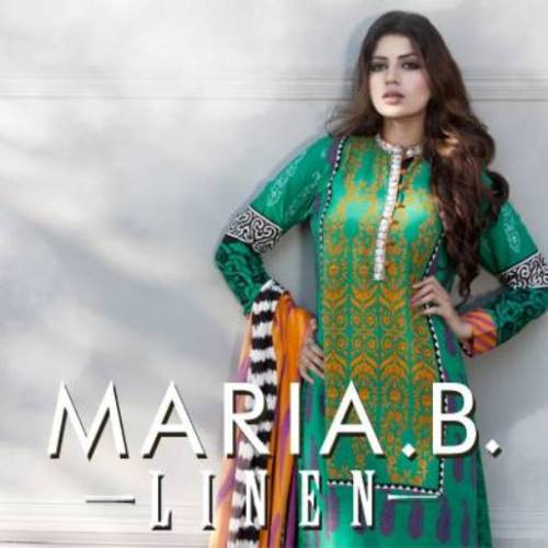 Latest-Winter-Linen-Dresses-Collection-2013-By-Maria-B