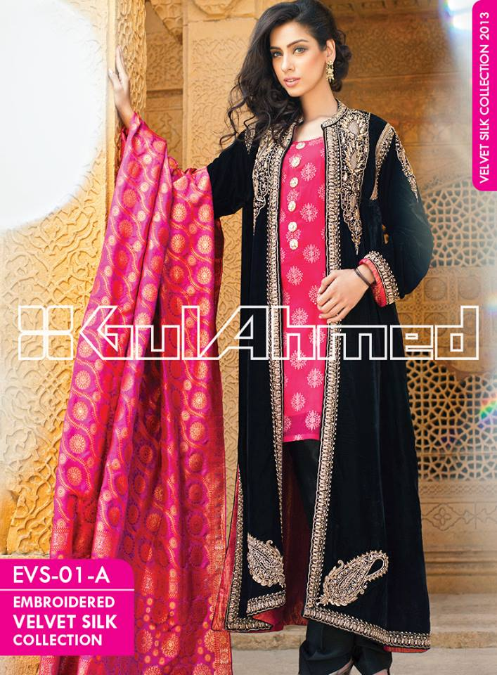 Women-Embroidered-Silk-Velvet-Coats-by-Gul-Ahmed-2