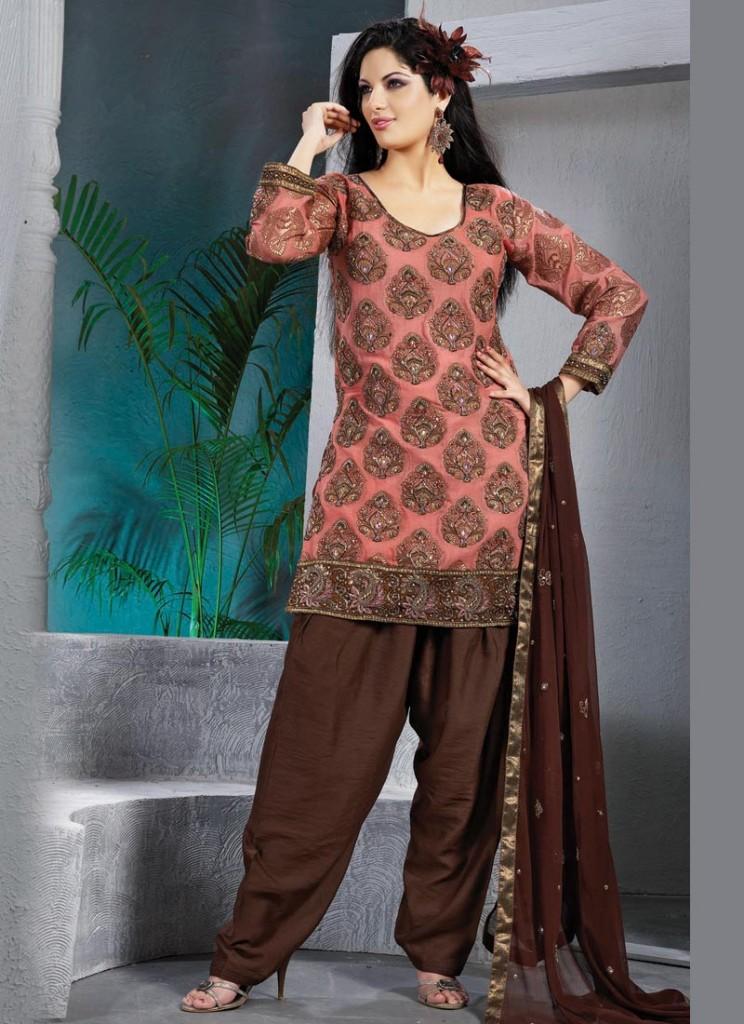 latest patiala salwar with short shirts - Girls Mag
