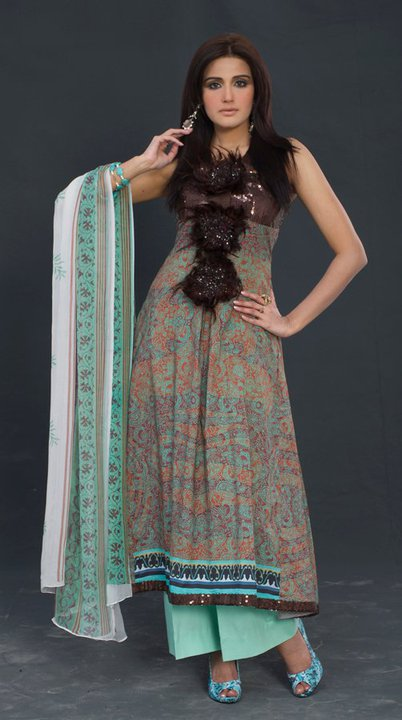frock new fashion pakistan. (3)