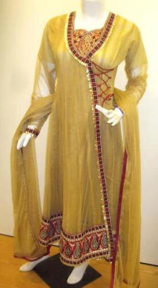 designs-of-angrakha-style-ladies-suits-2013