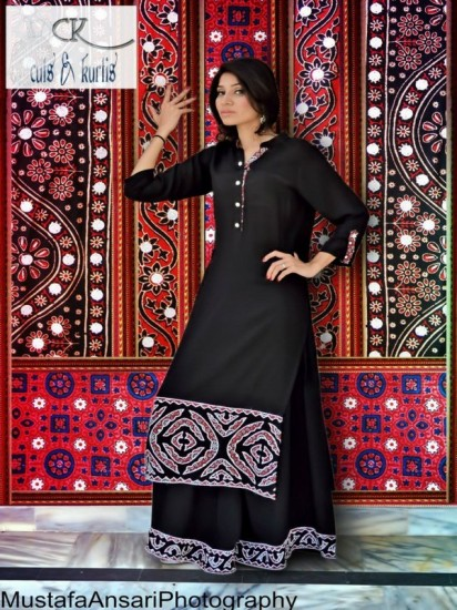 Cuts-Kurtis-Eid-Shirts-Palazzo-Pants-Collection-2013-7-412x550