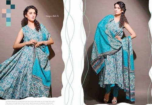 Jubilee VIP Lawn Collection 2014 Vol-2 001 -She-Styles