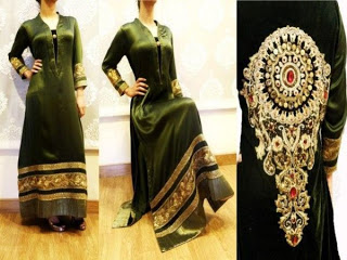 Noor Sahar Latest Winter Party Wear Dresses 2013 For Women-OurLadiesCollection