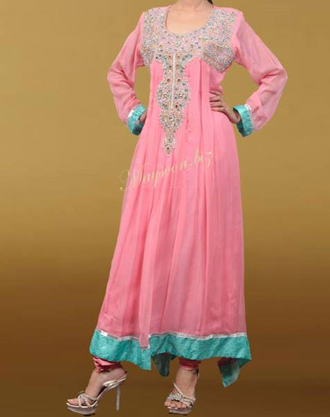 maysoon-eid-collection-2013-fancy-dresses-for-girls-wedding-party-pink-frock