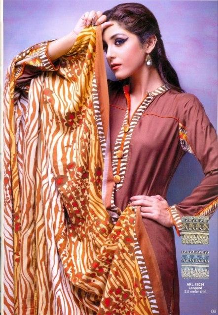 Latest-Winter-Khaddar-Linen-Cotton-Dresses-2012-by-Alkaram-Textile-4