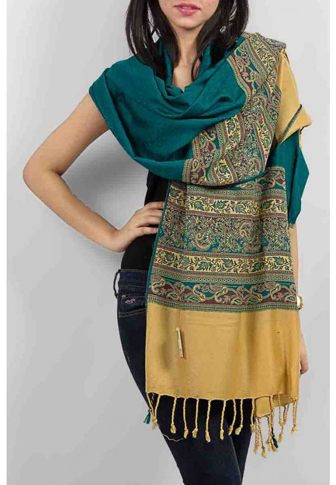 Rush-Ke-Kashmir-Shwals-Collection-2014-Jamawar-for-Women-4
