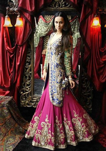 Latest-Walima-Dresses-2014-Trends-For-Girls-008