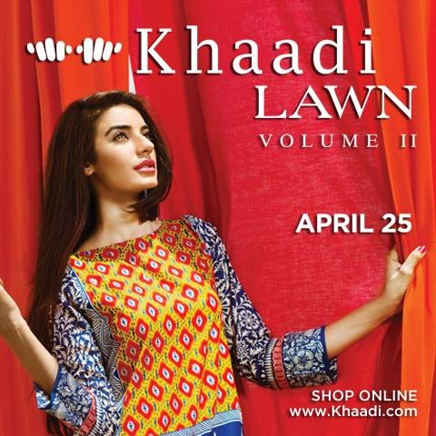 Khaadi-Lawn-Vol-2-Summer-Prints-Design-2015-Collection