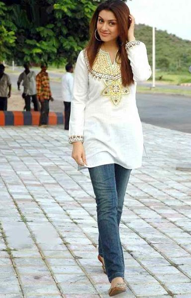 Kurtas With Jeans - Girls Mag