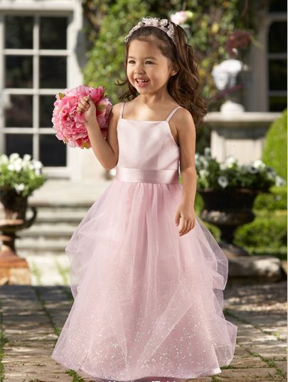 Satin-Tulle-Flowergirl-dress