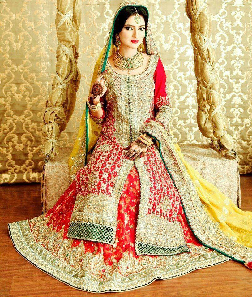 Latest Bridal Dresses In Pakistan Girls Mag