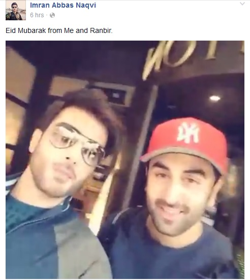 Ranbir and imran abbas