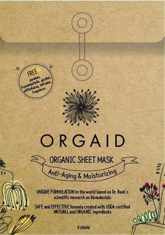 Orgaid's sheet mask