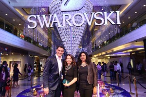 Swarovski‬ India Crystal Installation Cocktail Party
