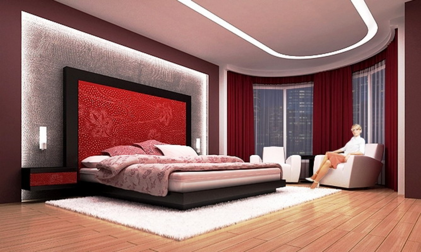 modern bedroom designs ideas - girls mag