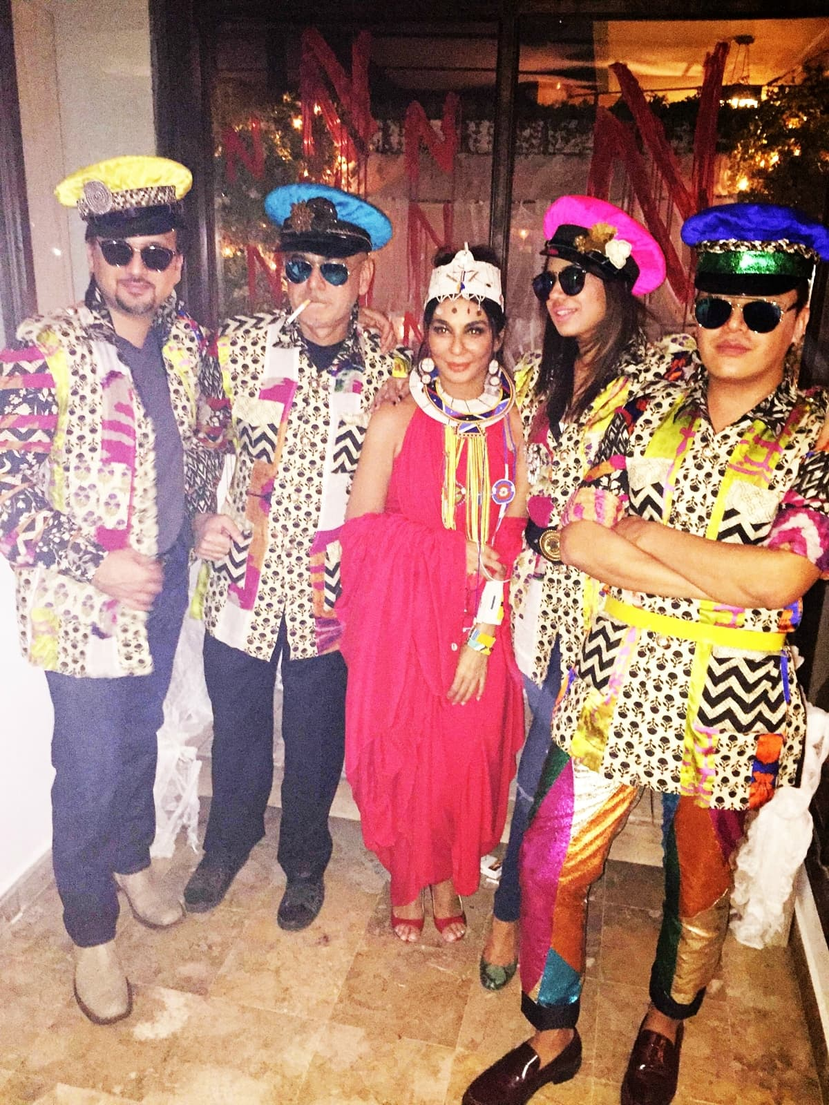 Nabila's Halloween Party in Karachi