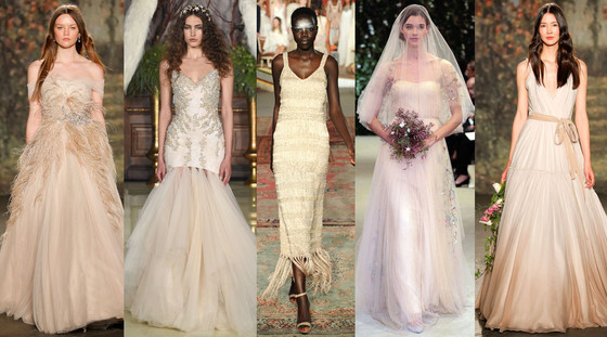 Spring 2016 Wedding Dress Trends