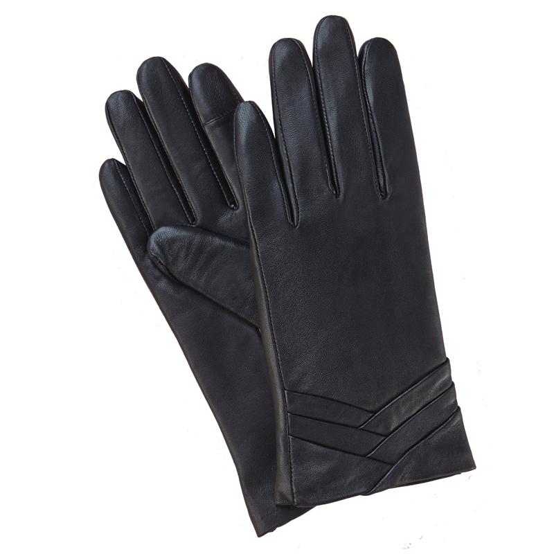 gsg_top_sale_basic_elegant_sheepskin_ladies_dressing_leather_gloves