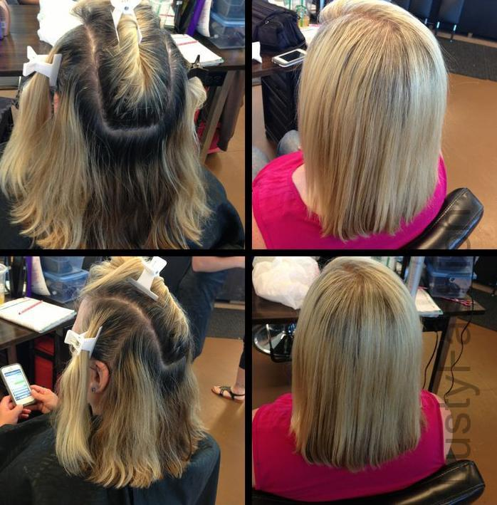 foiling-hair-for-highlights