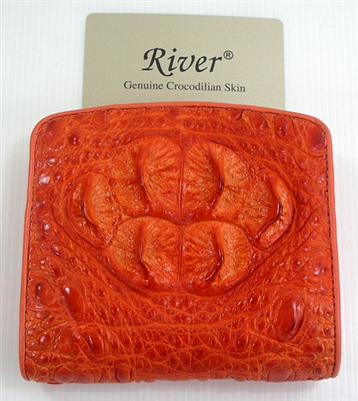 Crocodile womens wallet