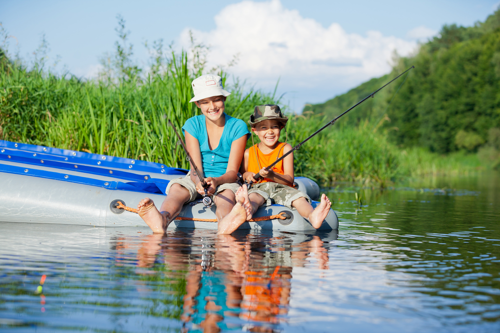 Tips to go fishing with children
